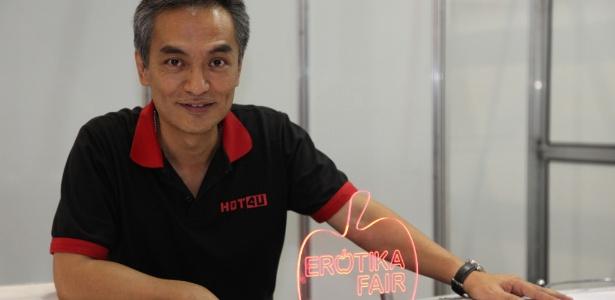 O criador da Erótika Fair, o publicitário Evaldo Shiroma