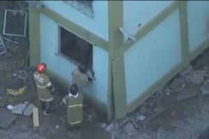 Pelo menos cinco pessoas morreram e outras nove ficaram feridas na explosão do prédio