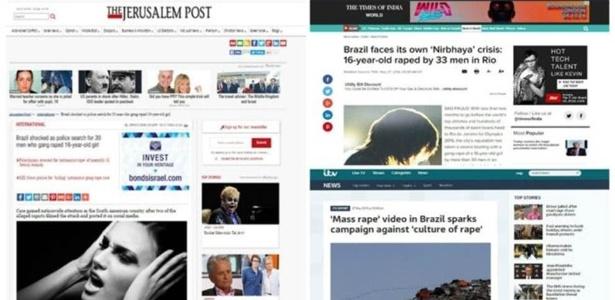 Sites e publicações internacionais repercutem o episódio do estupro coletivo e o amplo debate sobre a cultura de agressões à mulher no país