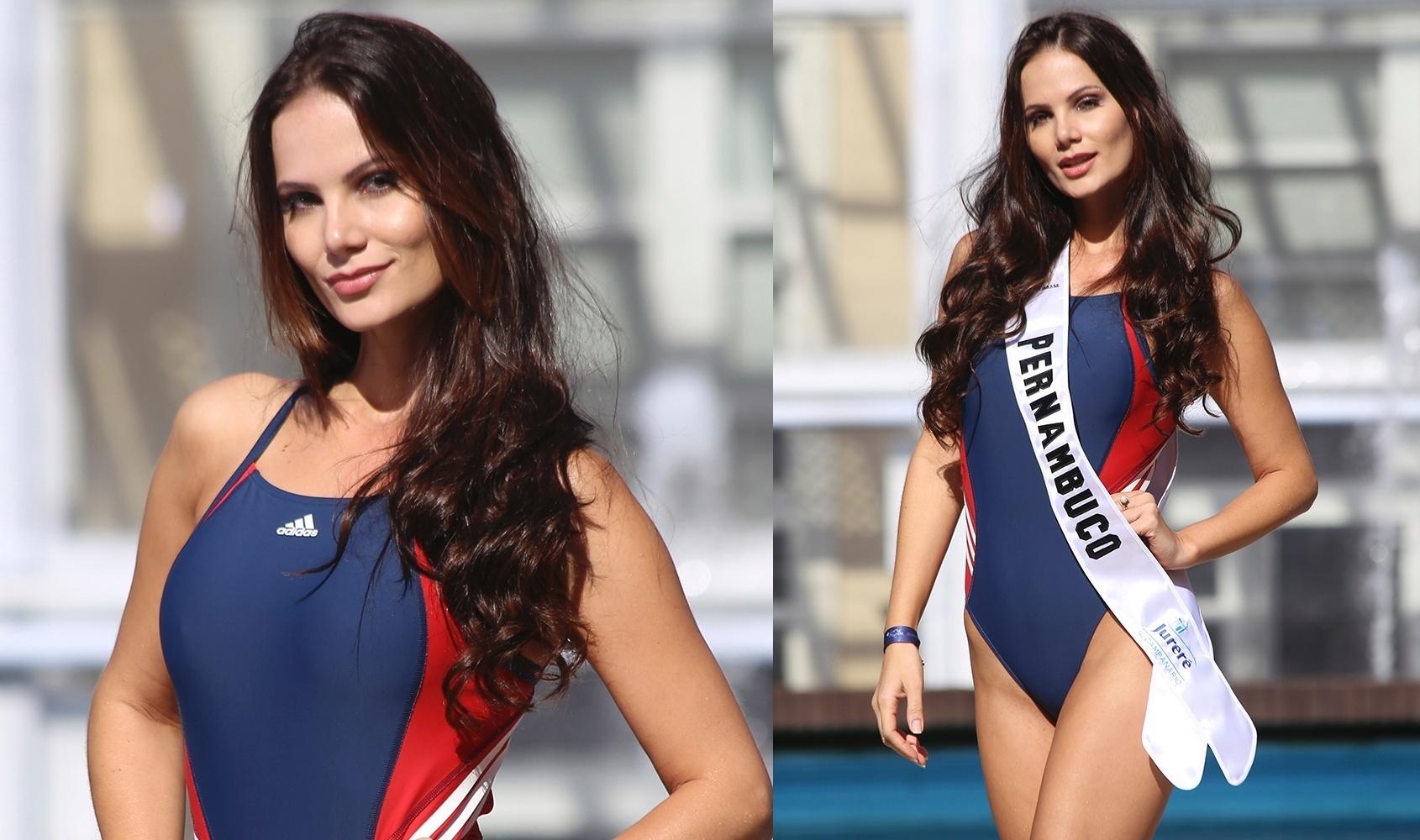 23.jun.2016 - PERNAMBUCO - Leidiane Vasconcelos, 26, estudante e modelo