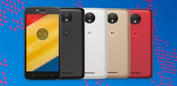 Moto C, smartphone barato da Lenovo/Motorola - Divulgação