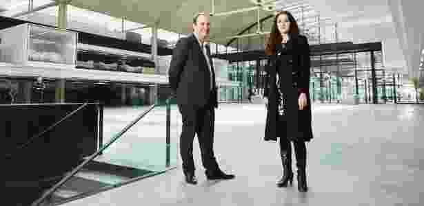 Xavier Niel e Roxanne Varza, que comandam a Station F, maior berço de startups do mundo - Roberto Frankenberg/The New York Times