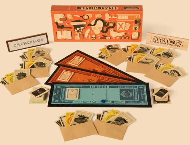 """Imagem do site do jogo de tabuleiro """"Secret Hitler"""""""