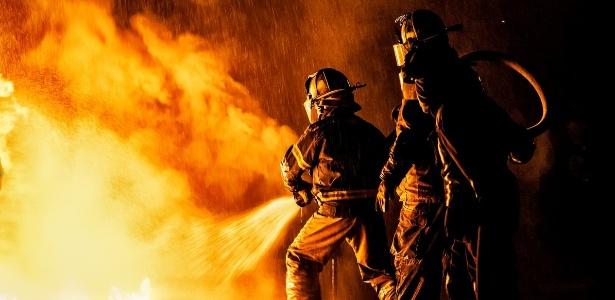 Lanchonete na Califórnia escapou de um, mas não de dois incêndios