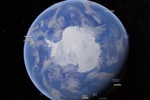 Como cidades brasileiras podem ser afetadas pelo derretimento das geleiras e aumento no nível do mar (Foto: Google Earth)