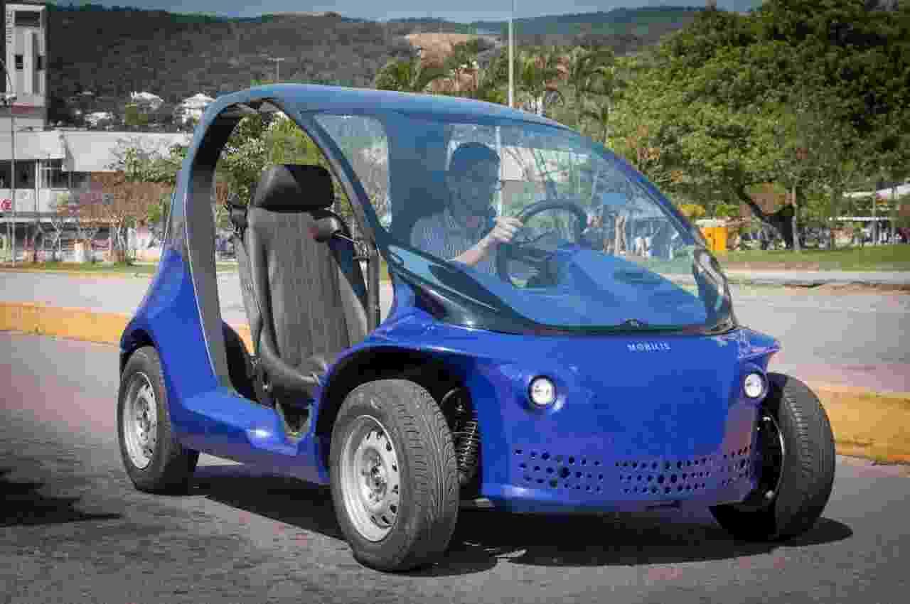 Li veículo elétrico fabricado pela Mobilis - Divulgação