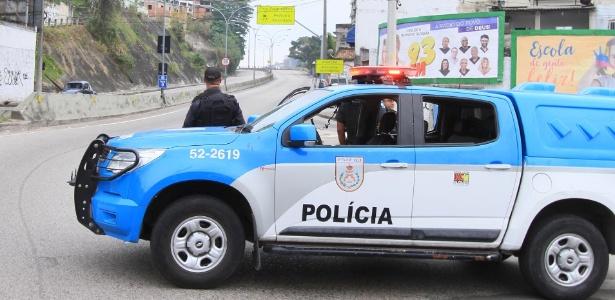 24.set.2018 - Violência fecha a autoestrada Grajaú-Jacarepaguá pela 7ª vez em um mês - José Lucena/Futura Press/Estadão Conteúdo