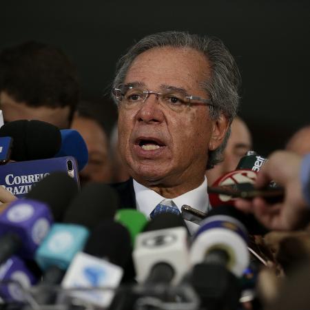 O ministro Paulo Guedes (Economia) - Por Marcela Ayres