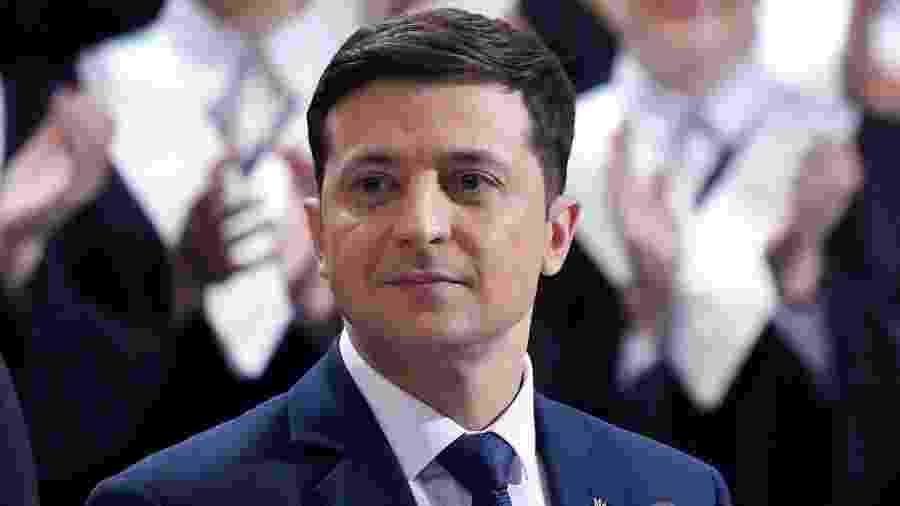 Presidente da Ucrânia bate recorde com entrevista de 14 horas - Reprodução