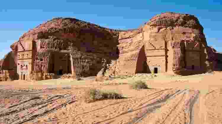 A antiga cidade de Mada'in Saleh - Getty Images - Getty Images