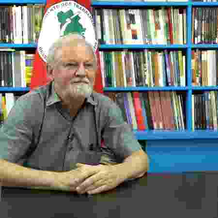 31.out.2019 - João Pedro Stedile, um dos coordenadores nacionais do MST (Movimento dos Trabalhadores Rurais Sem Terra) - Marcelo Ferraz/UOL - Marcelo Ferraz/UOL