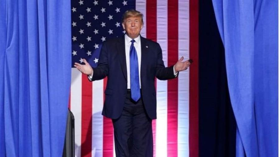 Presidente norte-americano tem participação financeira na Sanofi, que produz a cloroquina - Kevin Lamarque/Reuters