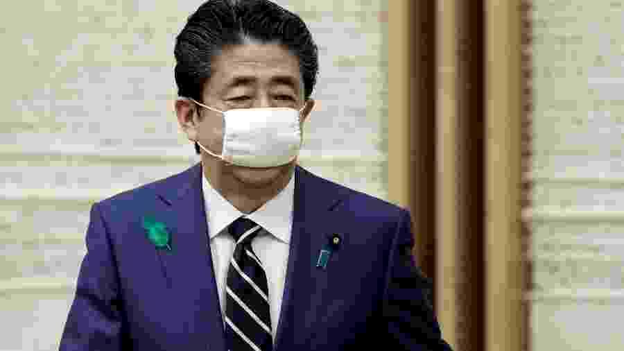 Premiê japonês, Shinzo Abe, em Tóquio -