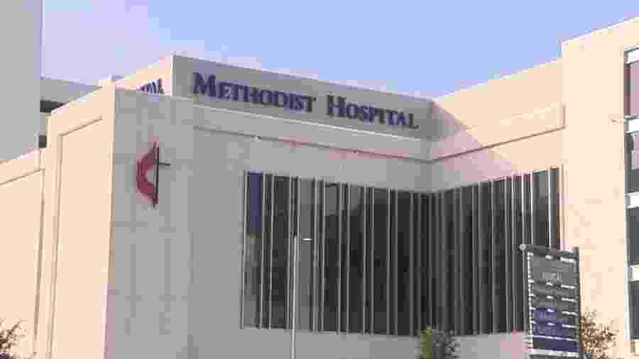 """Hospital Metodista de San Antonio, onde homem de 30 anos morreu após ir a """"festa da covid-19"""" - Reprodução/ ABC"""