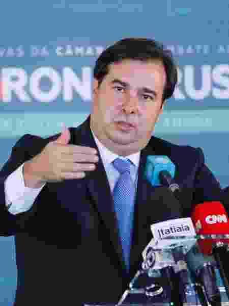 O presidente da Câmara dos Deputados, Rodrigo Maia (DEM-RJ) - Maryanna Oliveira/Câmara dos Deputados