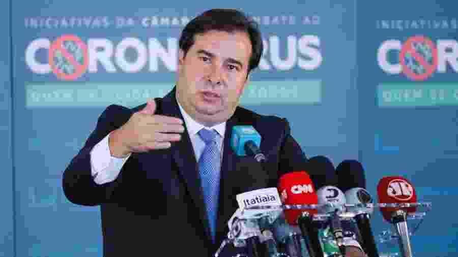 Rodrigo Maia espera haver derrubada de vetos de Bolsonaroà lei do novo marco do saneamento básico - Maryanna Oliveira/Câmara dos Deputados