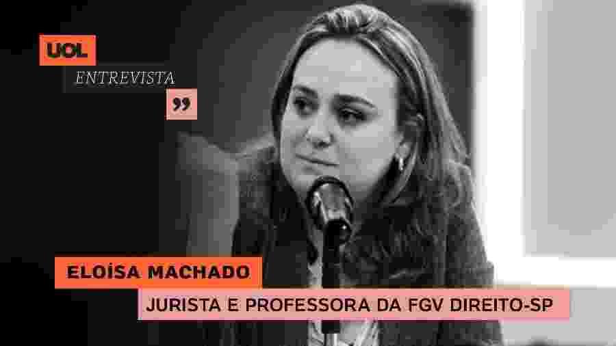 Eloísa Machado no UOL Entrevista (11/08/20) - Arte/UOL