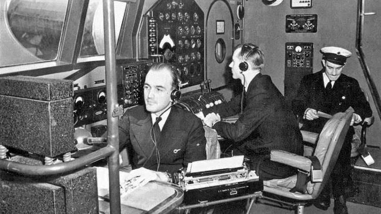 Navegador de voo - Divulgação/ Pan Am Foundation - Divulgação/ Pan Am Foundation