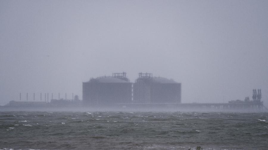 Furacão Sally chegou à costa do estado norte-americano do Misssissipi - CHANDAN KHANNA/AFP