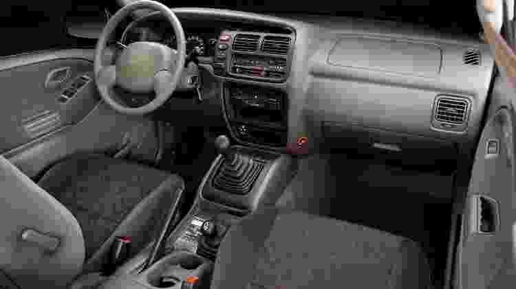 Tracker 1 interior - Divulgação  - Divulgação