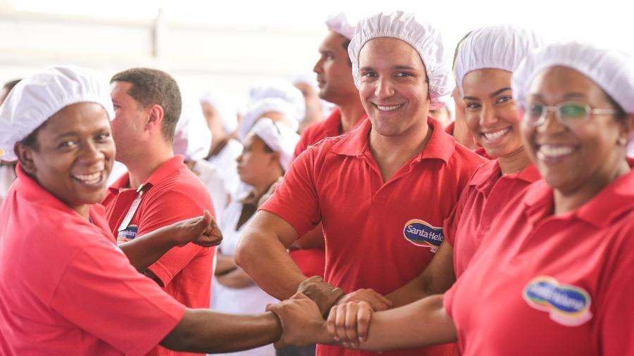 Na nova concepção de carreira da empresa de alimentos, o funcionário não trabalha mais só para o gestor, e sim para a organização como um todo - Divulgação/Santa Helena