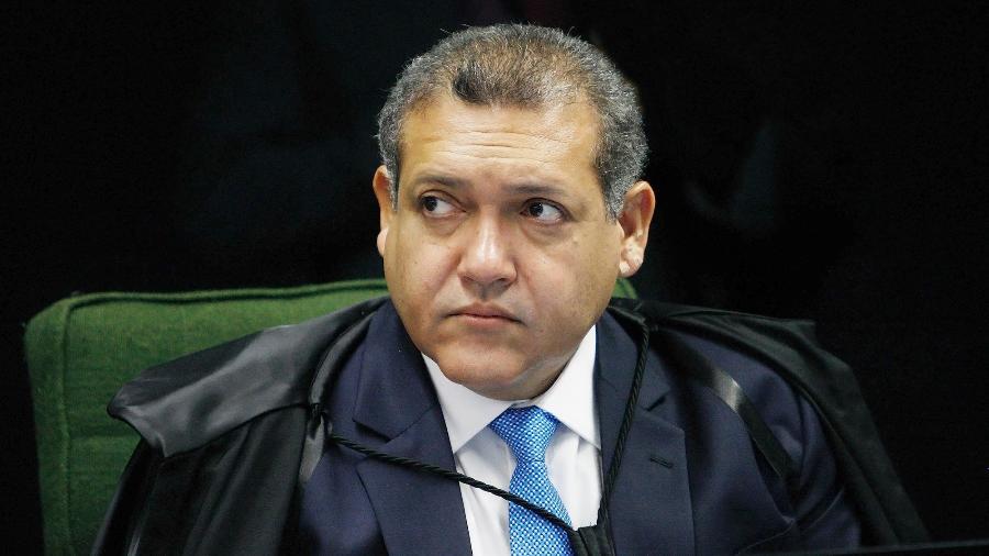 Ministro do STF Nunes Marques assume vaga de suplente no TSE com a aposentadoria de Marco Aurélio Mello - Felipe Sampaio/STF