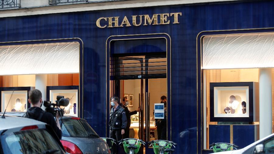 Joalheria Chaumet foi assaltada em Paris - Benoit Tessier/Reuters