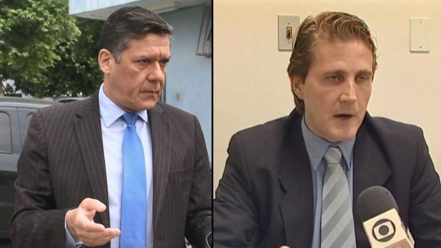 Alexandre Farina e Carlos Alexandre Gutmann estão afastados desde julho - Reprodução/TV Gazeta