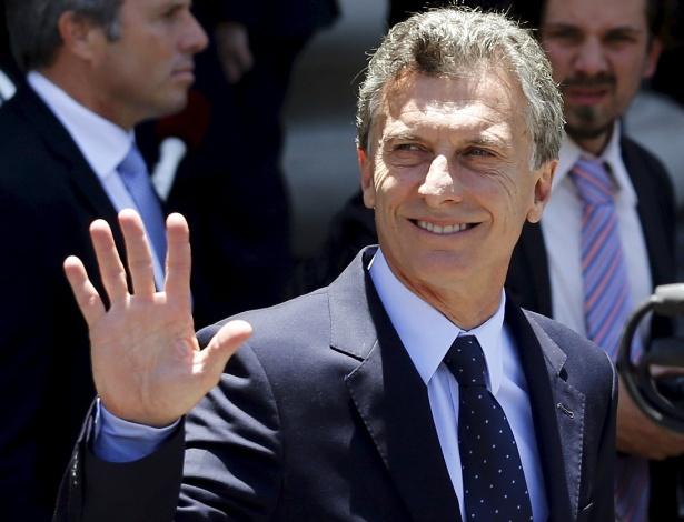 Mauricio Macri, presidente da Argentina, presidiu o clube Boca Juniors entre 1995 e 2007