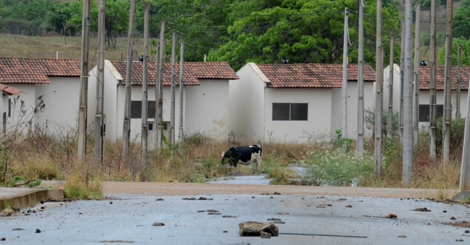 O investimento do empreendimento foi de R$ 37 milhões, mas não ninguém mora lá
