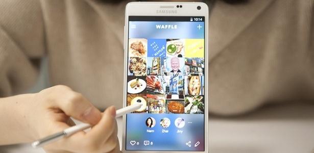 Waffle, app da Samsung em fase de desenvolvimento