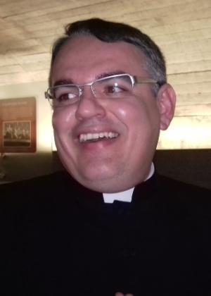 O padre paraibano Lázaro Brito Couto, que visitou o Senado no dia da votação impeachment