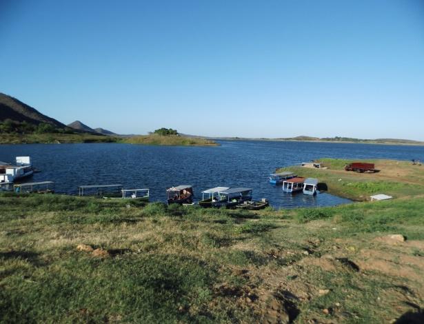 Açude do Orós, no Ceará: local está com 32% da capacidade e sua água também vai abastecer Fortaleza