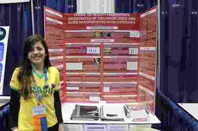 Kawoana Vianna, Intel ISEF 2011 (Feira Internacional de Ciência e Engenharia) - Arquivo pessoal