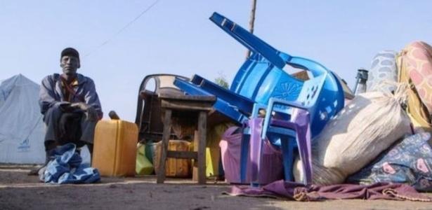 Número de deslocados no Sudão do Sul chegou a 1,8 milhão - BBC