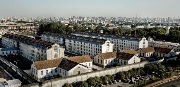 Vista da Penitenciária Feminina de São Paulo