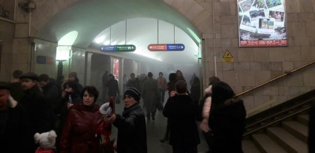 Cidadão do Quirguistão pode ser autor do atentado no metrô da Rússia