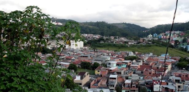 Vista de um bairro de Cidade Tiradentes, em São Paulo