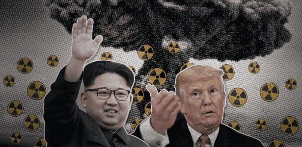 ligado no mundo - guerra nuclear v2 - Arte/UOL - Arte/UOL