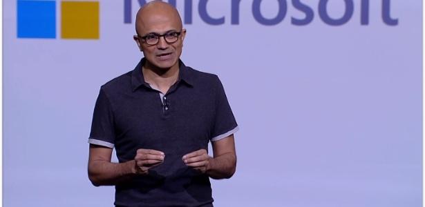 Drones e câmera inteligentes: Satya Nadella, CEO da Microsoft, faz anúncios durante a Build 2018