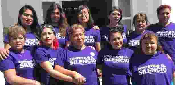 As 11 mulheres que acusam o governo do México de tortura sexual na Corte Interamericana de Direitos Humanos - Centro Prodh via BBC - Centro Prodh via BBC