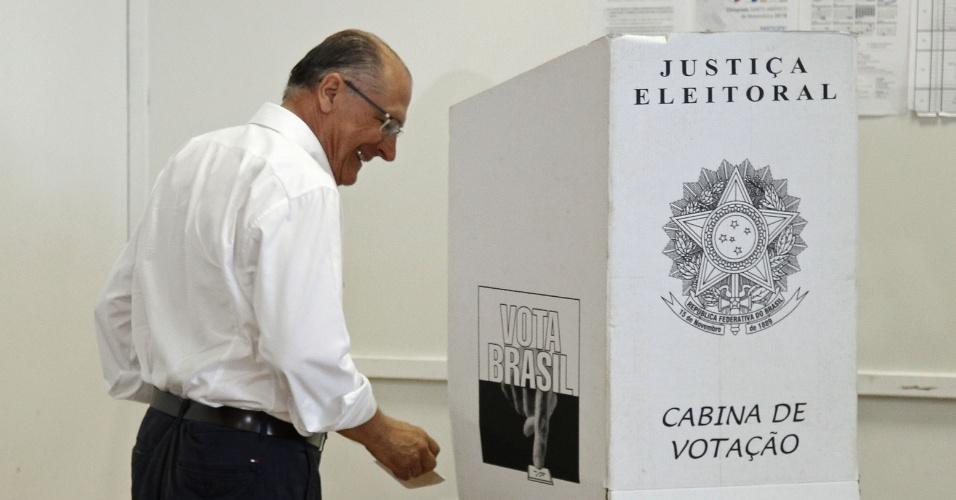 Gerlado Alckmin vota em São Paulo