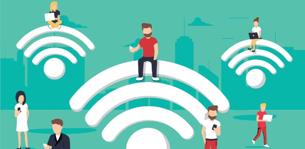 Emprestar a senha do wi-fi pode virar uma enorme dor de cabeça - Getty Images/iStockphoto