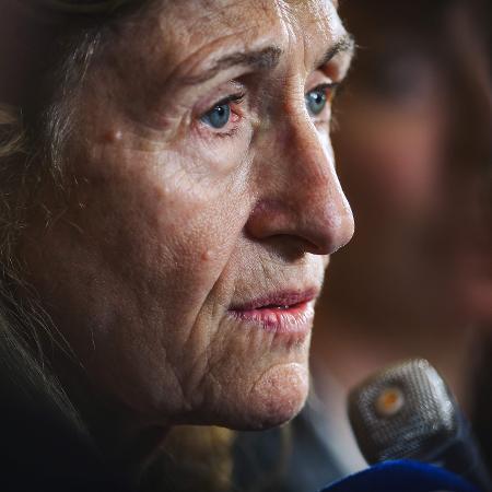 A ministra francesa de Justiça, Nicole Belloubet - AFP