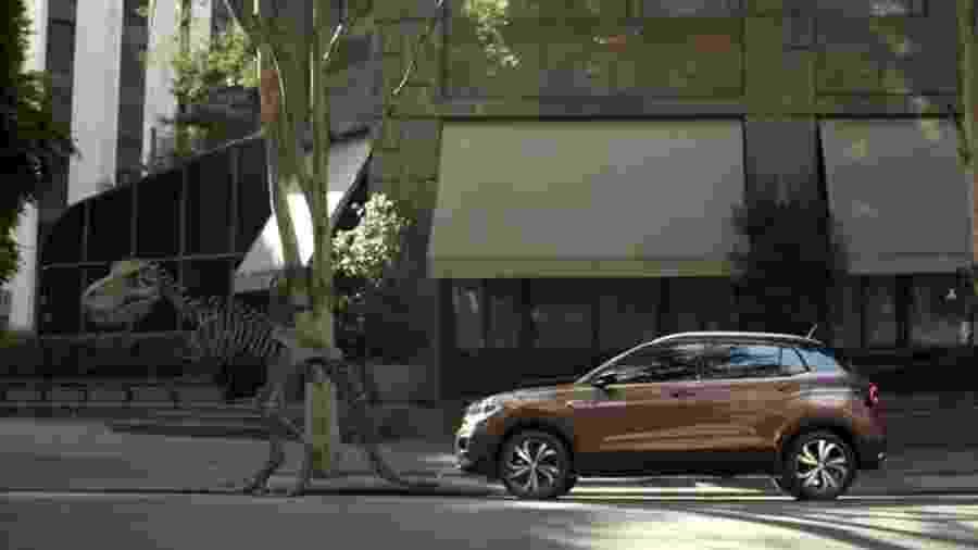 O T-Cross, da Volkswagen, foi lançado no Brasil em 2019 - Divulgação