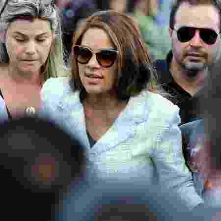 17.jun.2019 - A deputada federal Flordelis (PSD-RJ), de óculos escuros - Wilton Junior/Estadão Conteúdo
