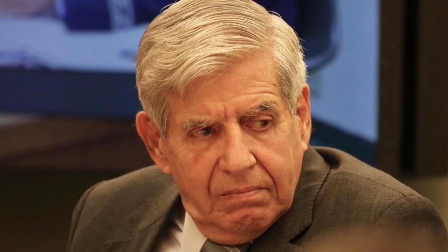 General Augusto Heleno, chefe do GSI, durante audiência na Câmara dos Deputados - FÁTIMA MEIRA/FUTURA PRESS/FUTURA PRESS/ESTADÃO CONTEÚDO