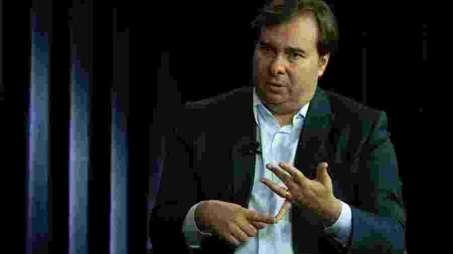 O presidente da Câmara, Rodrigo Maia (DEM-RJ) - Kleyton Amorim/UOL