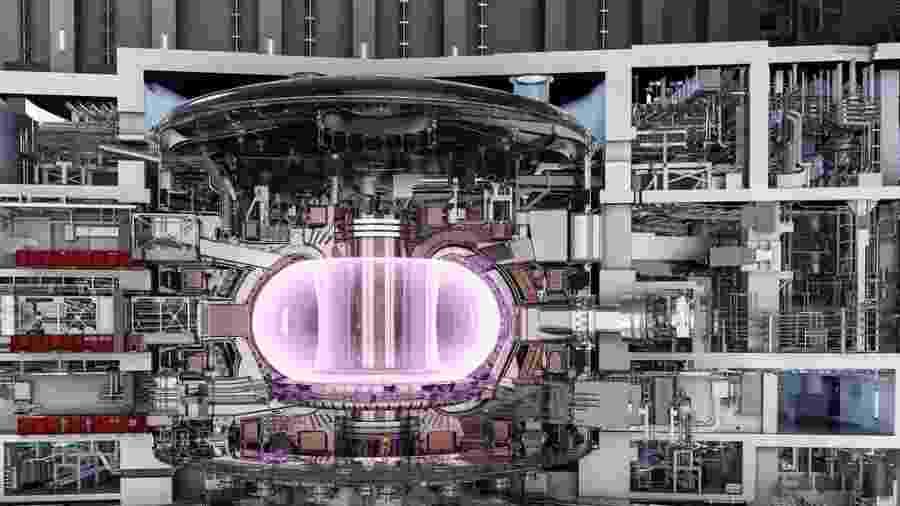 """O reator do tipo """"tokamak"""" deve ser usado no projeto internacional de cooperação para fusão nuclear, o Iter - Iter/Divulgação"""