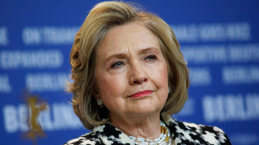 """Hillary Clinton, ex-secretária de Estado dos EUA e candidata à presidência pelo Partido Democrata em 2016: """"Senti a força total da misoginia"""" - David Gannon/AFP"""